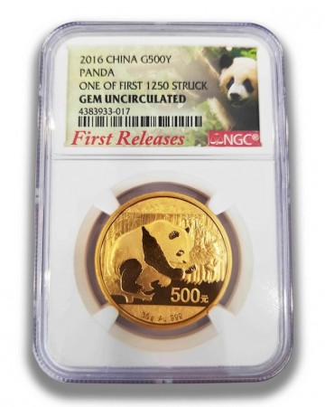 30g gold China Panda, buy online with Indigo