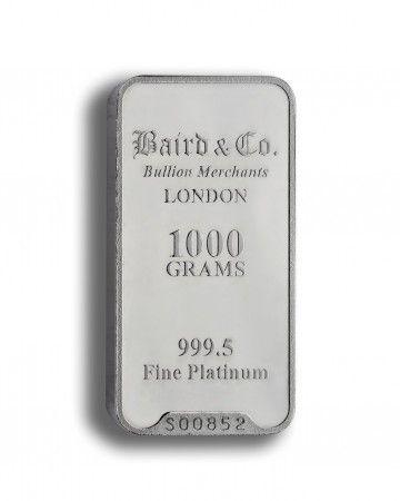 Baird Platinum investment bar 1000 grams buy online