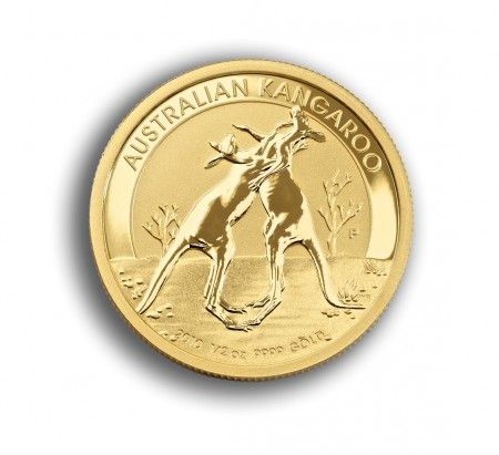 Gold Kangaroo coin 1/2 oz Australian front buy online