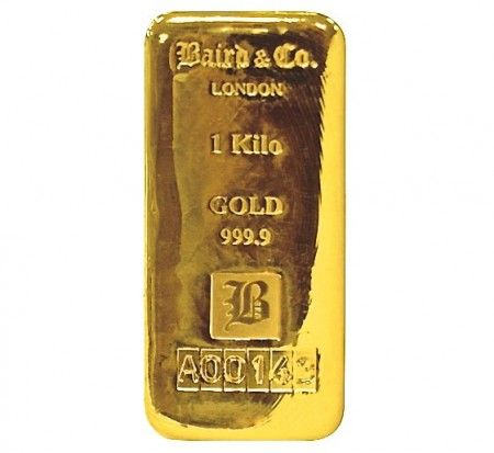 Baird gold cast bar 1 kilo buy online
