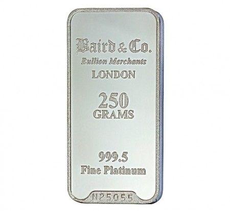 Baird Platinum Investment bar 250 grams buy online