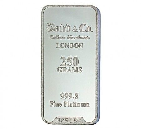 Baird Platinum Investment bar 250 grams buy online