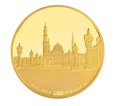gold islamic coin 1 ounce medina buy online
