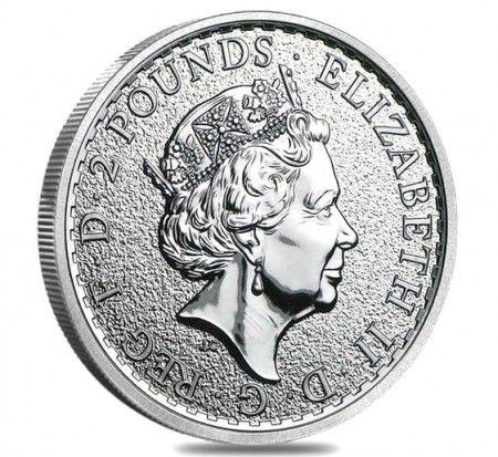 UK Britannia silver coin 1 ounce rear buy online