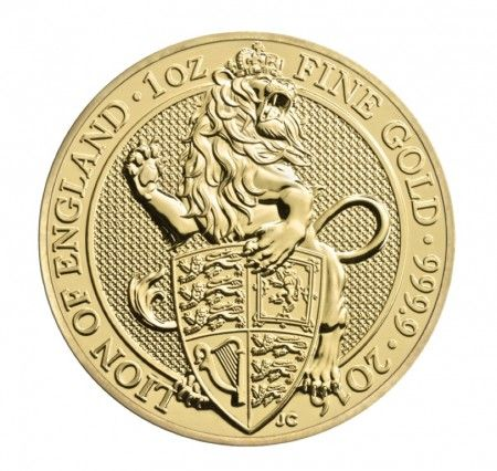 1oz gold queens beasts coin, buy online with ipm group
