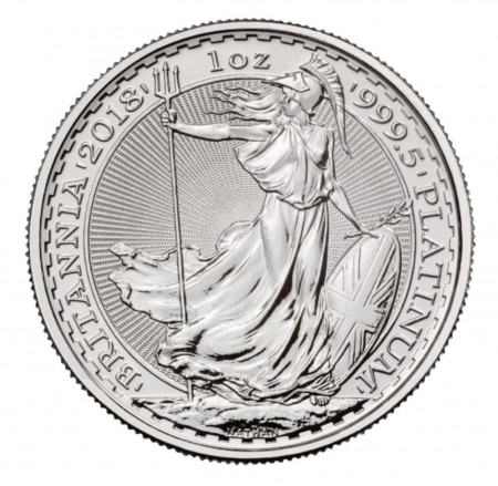 UK Britannia platinum coin 1 ounce buy online in Singapore