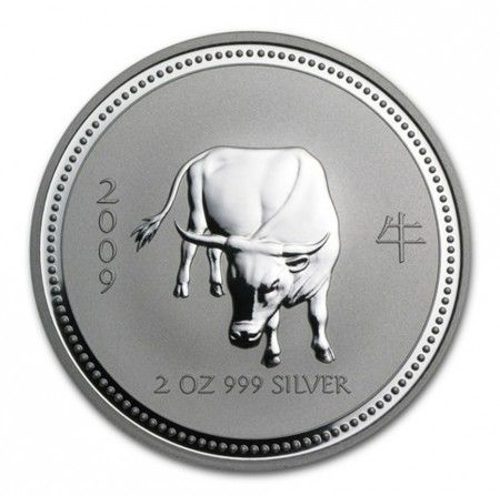 Buy 2oz Silver Perth Mint Year of OX 2009 Series (I) from Indigo