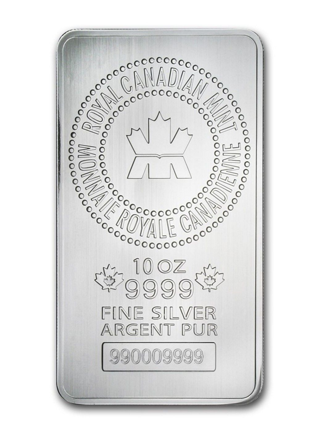 Buy 10 Oz Silver Bar Rcm 9999 Fine In Usd From Indigo