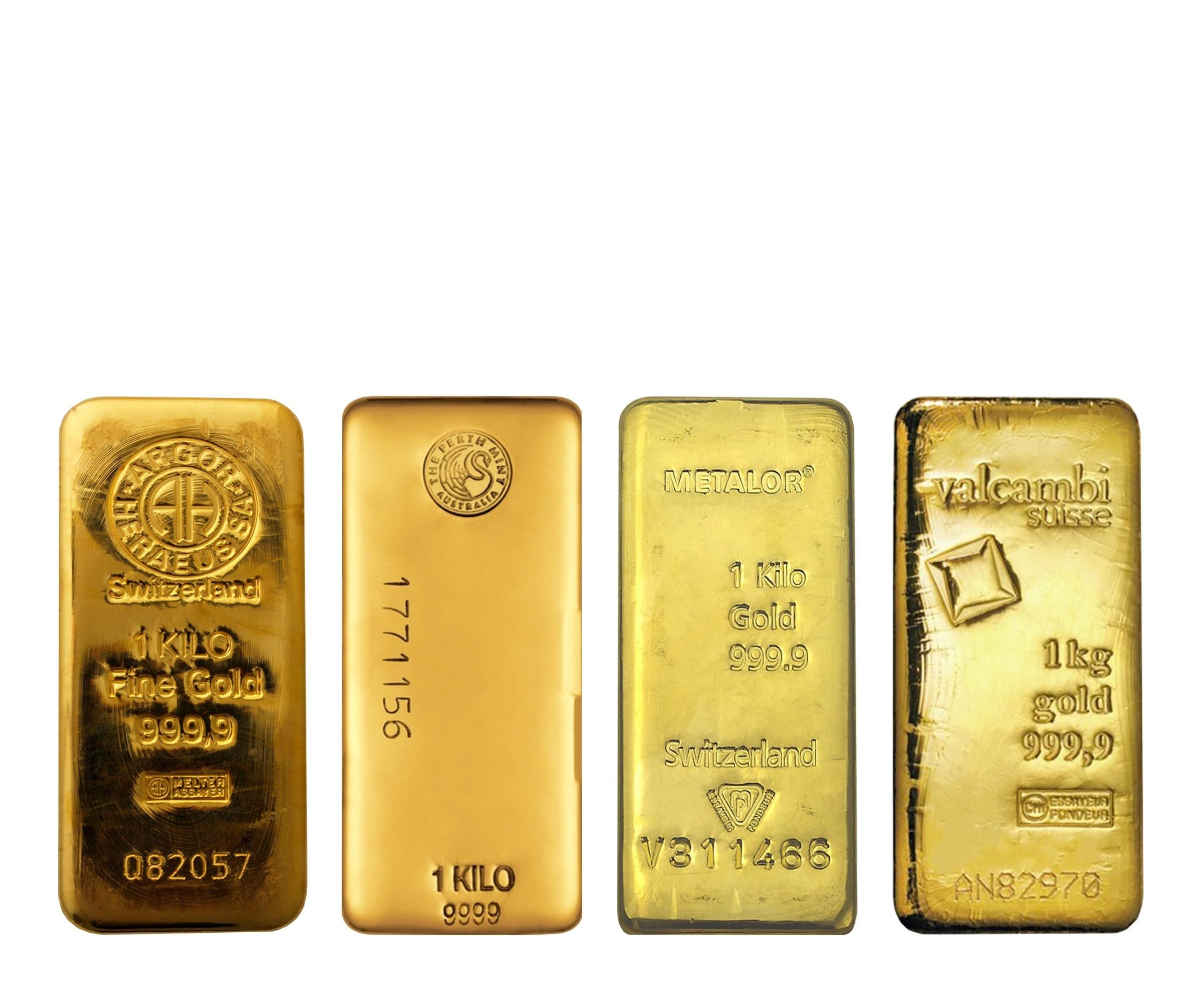 Buy 1 Kilo Gold Bar Lbma Various Mints In Usd From Indigo