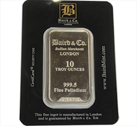 Buy 1 Ounce Palladium Minted Bar 999 5 In Usd Indigo