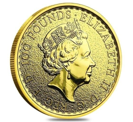 1oz Gold Britannia Year 2016