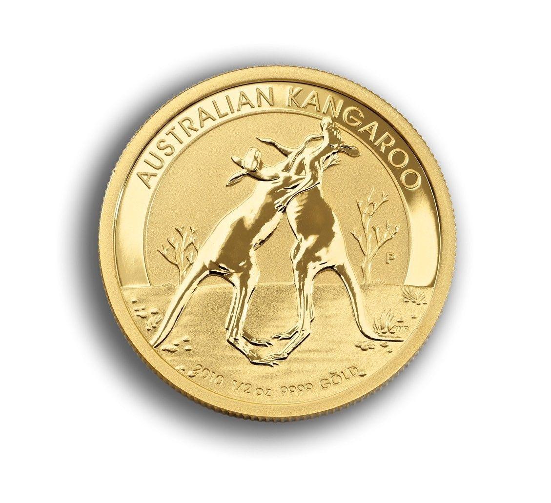 Gold Kangaroo Coin 1 2 Oz Australian Front Online