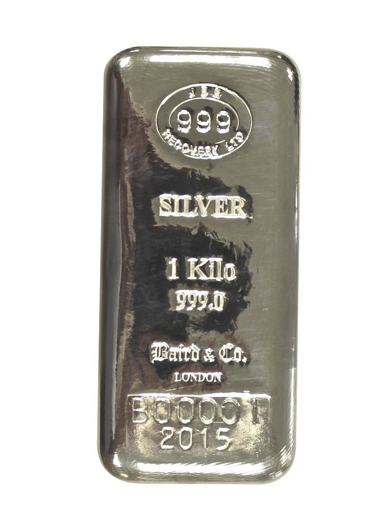 Buy 1 Kilo Silver Lbma Cast Bar 999 New In Usd