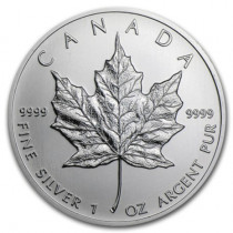 1oz Silver Maple Leaf Year 2011 | solely for Freeport storage or Singapore pickup