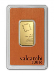 Buy Valcambi gold 20 gram bar | Indigo