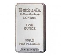 Baird Palladium Investment bar 1 ounce buy online