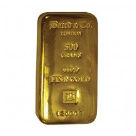 500 gram Gold Cast Bar, 99.99% Purity