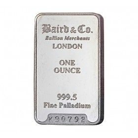 Palladium Investment Bar - 1 ounce 999.5%