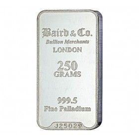 Palladium Minted Bar - 250 grams 999.5%