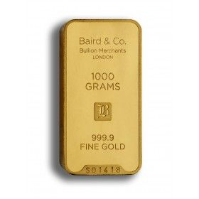 Gold Minted Bar - 1000 grams, 99.99% Purity