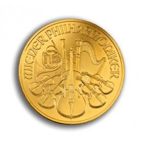 1oz Gold Philharmoniker