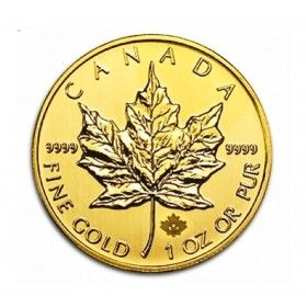 1oz Gold Maple Leaf  - Various Years