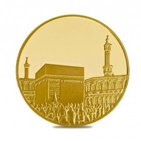 Islamic Collection, Mecca medina Gold 1 oz Round - Limited Edition