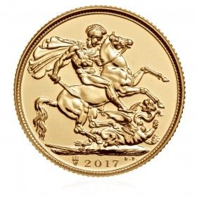 Sovereign Year 2017 Gold Bullion Coin