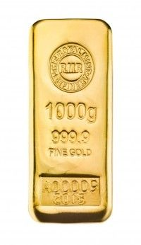 Royal Mint cast bar 1 kilo buy online