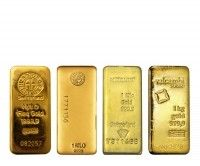 Buy 1 kilo gold bars LBMA good delivery online with Indigo