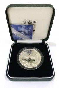 Buy 2001 UK 1oz Silver Britannia Proof coin