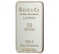 Baird Platinum Investment bar 50 grams buy online