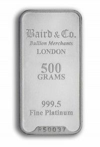 Baird Platinum investment bar 500 grams buy online