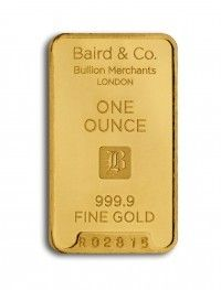 Baird gold investment bar 1 ounce buy online