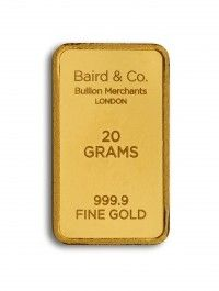 Baird gold investment bar 20 grams buy online