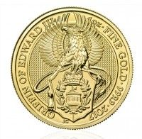 Buy Gold 1oz Griffin coin online from Indigo