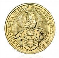 Buy Gold 1oz Griffin coin online from Indigo