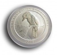 1oz silver Kookaburra 2008 coin, buy online with ipm group