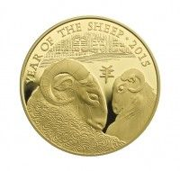 gold coin 1 ounce lunar year of sheep uk mint buy online