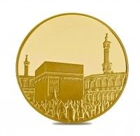 gold islamic coin 1 ounce mecca buy online