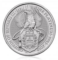 1oz platinum Griffin coin buy online