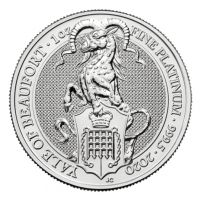 1oz platinum yale coin buy online