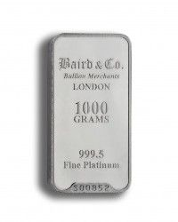Baird Platinum investment bar 1000 grams buy online