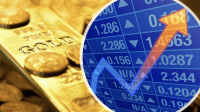 Gold versus stock market prices ?